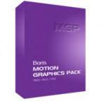 Boris Motion Graphics Pack for Adobe CS6 / CS5.x / CS4 (Download) Mac
