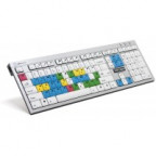 Logic Avid Liquid Slim Line PC US Keyboard - Russian
