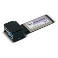 Sonnet Tempo SATA 6Gb and USB 3.0 ExpressCard/34 (2+2 ports)