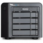 "Promise Pegasus 2 M4 with 4 x 1TB SATA 2.5"" HDD incl. Thunderbolt cable"