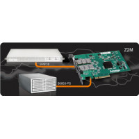 Accusys Z2M HBA card (Duo Port)