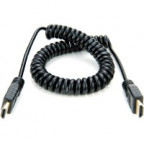 Atomos Coiled Full HDMI to Full HDMI Cable (30cm)