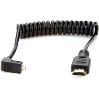 Atomos Coiled Micro to Full HDMI Cable 50 cm