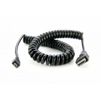 Atomos Micro to Full HDMI Coiled Cable 50 cm