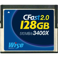Wise CFA-1280 128GB CFast 2.0 card
