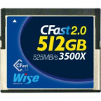 Wise CFA-5120 512GB CFast 2.0 card