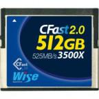 Wise CFA-5120 512GB CFast 2.0 card