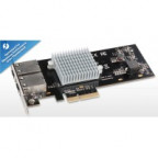 Sonnet Presto 10GBASE-T Ethernet 2-Port PCIe Card (Thunderbolt compatible)