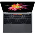 "Apple (MPXX2RU/A) 13"" MacBook with Pro Touch Bar: 2560x1600/Retina/Intel/Core i5/3.1GHHz/8Gb/256 SSD/Int Iris Plus Graphics 650/Mac OS Sierra/Silver"