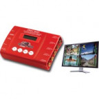Decimator DMON-QUAD: 3G/HD/SD-SDI Quad Split Multi-Viewer, 3G/HD/SD-SDI + HDMI Outputs
