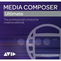 Avid Media Composer | Ultimate 1-Year Subscription NEW EDU (Electronic Delivery)