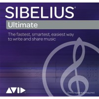 Avid Sibelius | Ultimate 1-Year Software Updates + Support Plan RENEWAL (Electronic Delivery)