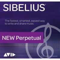 Avid Sibelius Perpetual License NEW (Electronic Delivery)