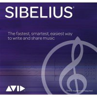 Avid Sibelius 1-Year Subscription NEW (Electronic Delivery)