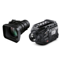 Blackmagic URSA Broadcast + Fujinon LA16x8BRM Bundle
