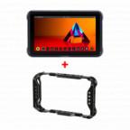 """Atomos Shinobi HDMI + AtomX 5"""" Shinobi Cage bundle"""